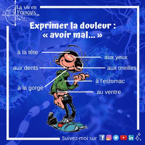 ©La_vie_en_francais_schema_avoir_mal_a