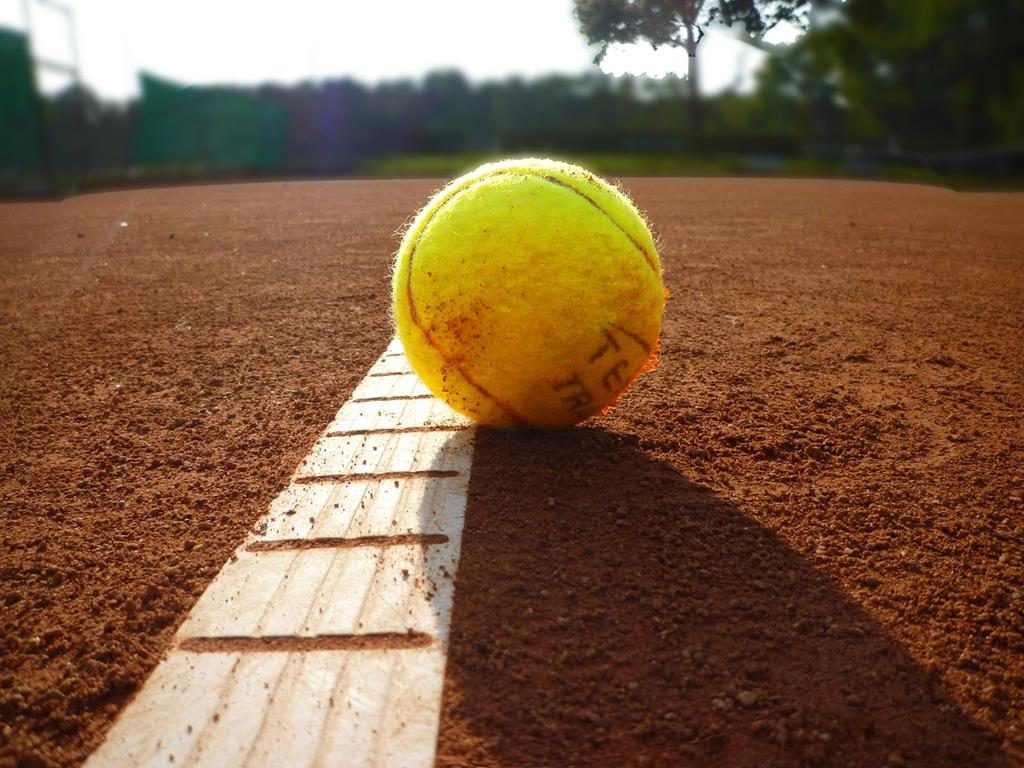 une_balle_de_tennis_sur_terre_battue